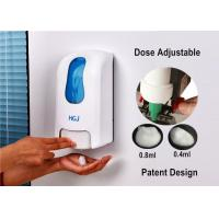 Wholesale Decorative Refillable Manual Soap Dispenser Commercial With Large Window from china suppliers