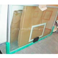 Wholesale 72 Inch Glass Basketball Backboard In Ground Basketball Hoops from china suppliers