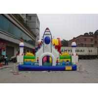 Quality Outside / Indoor Inflatable Amusement Park Commercial Funcity Game Toys For Kids Playing for sale
