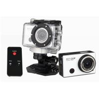 Wholesale Black Wifi 1080P Action Camera Remote Control Helmet Action Cameras with Changeable Battery from china suppliers