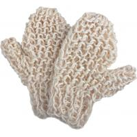 Wholesale Natural Sisal Bath Scrubber Bathroom Spa Cleanser Body Scrubbing Mitt SBP-1 from china suppliers