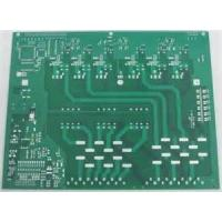 Buy cheap Lead free HASL CM-1 CM-3 FR-1 fr4 single sided pcb board 1.2mm , Solder Mask Black , Yellow from wholesalers