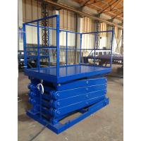 Wholesale 320 Kg Load Scissor Lift Ladder , Electric Scissor Lift Platform 1750 × 1200 from china suppliers