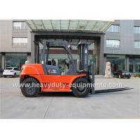 Wholesale 7000kg Industrial Forklift Truck CHAOCHAI Engine 600mm Load centre from china suppliers
