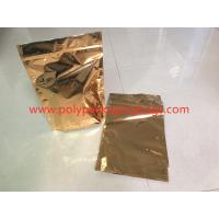 Wholesale Gold PET Composite CPP Standing Foil Ziplock Bags For Powder ,  Herbs from china suppliers