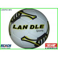 Wholesale Custom 400g Weight Hand Stitched Soccer Ball , Silk Screen Printing from china suppliers