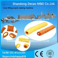 Wholesale Core filling snack processing machine / cream snack making machine from china suppliers