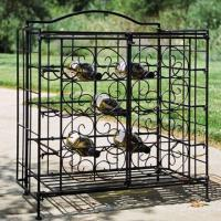 Wholesale 15-bottle Folding Wine Cage, Flat for Easy Portability and Space Saving Storage  from china suppliers