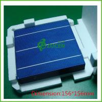 Quality Self produced A polycrystalline silicon solar cells 156mm*156mm Efficiency 17%~18.6% for sale