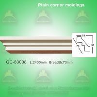 Wholesale Decorative plain cornice crown moulding from china suppliers