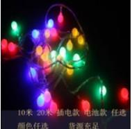 Wholesale Stright Light, 10M/20M,100/200LED rechargable type, battery type,multicolor, EU plug 220V from china suppliers