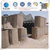 Wholesale Factary price Durable Galvanized gabion barrier for military fortification from china suppliers