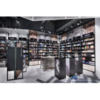 Wholesale Beauty Shop Interior design of the Cosmetics Display Showcase made by metal rack with Wooden Cabinets from china suppliers