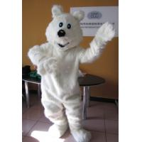 Wholesale Lovely polar bear cartoon character mascot costumes for adult from china suppliers