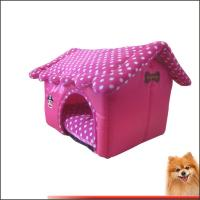 Wholesale Doggie beds Sponge Oxford Polyester Dog Bed Pet Products China Factory from china suppliers