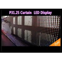 Wholesale Transparent See - Through Curtain IP 65 , Rental LED Media Facade for Advertising from china suppliers