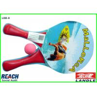 Wholesale Custom Printed 0.5cm Beach Ball Racket With Heat Transfer Printing from china suppliers