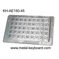 Wholesale Vandalproof Laptop Panel Mount Keyboard With Metal Panle , Usb Interface from china suppliers