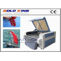Wholesale co2 CCD camera auto feeding low cost laser cutter laser cutting leather fabric cutting machines from china suppliers