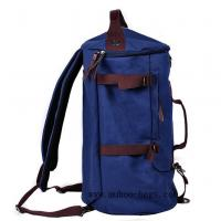 Wholesale Fashion Blue Canvas shoulder bag,Sports Travel backpack (MH-2112) from china suppliers
