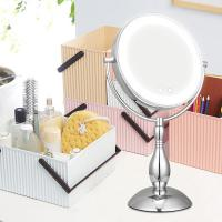 Quality Makeup Light Up Magnifying Vanity Mirror Use Both Battery And Adapter for sale
