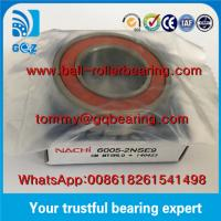 Wholesale Japan Origin Rubber Sealed Deep Groove Ball Bearing NACHI 6005-2NSE9 from china suppliers