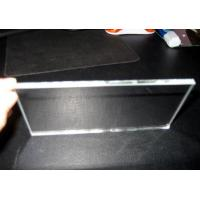 Wholesale 8mm Thick Insulated Tempered Low Iron Glass Panels Polished Edge For Curtain Wall from china suppliers