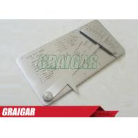 Wholesale Pipe Pit Gage Welding Gauge Ruler Gage Test Ulnar Welder Inspect from china suppliers