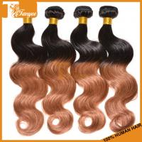 Wholesale 5A Ombre Hair Two Tone 1b/30 Brazilian Body Wave Human Hair Extension from china suppliers