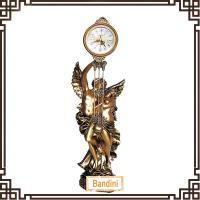 Wholesale different art craft Hot sale home decoration cheap table clock 203BK from china suppliers