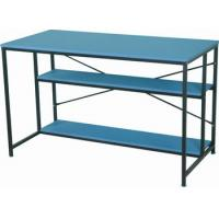 Wholesale Large Steel Wooden Household Rectangle Dining Table Blue Modern DX-1122 from china suppliers
