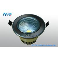 Wholesale 7W AC 120V Cool White COB Recessed LED Ceiling Lights 600lm For Indoor Lighting from china suppliers