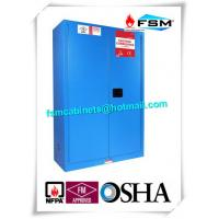 Vented Metal Corrosive Storage Cabinets For Hazardous