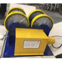 Quality CE / ISO PU Coated Bolt Adjustable Light Duty 1000kg Pipe Rotators For Welding for sale