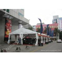 Wholesale Outdoor UV Resistant 850gsm White PVC Fabric Cover Car Exhibition Tent from china suppliers