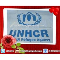 Wholesale Refugee relief tent tarps,PE shelter tent,UN Refugee agent PE tent tarpaulin from china suppliers