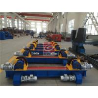 Wholesale Adjustable Pipe Welding Rotator 10T Conventional PU / Metallic Roller from china suppliers