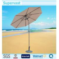 Wholesale Stainless Steel Pole Outdoor Furniture Tilted Patio Umbrella Parts for Beach from china suppliers