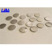 Quality Button Cell Battery 90mAh Duration 1020h , Cr2016 3v Battery For Electronic Toys for sale