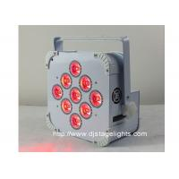 Wholesale 9pcsX18w LED DMX Wireless LED Par Cans , Rechargeable Led Stage Light from china suppliers