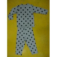 Rayon Spandex Children'S Cotton Pajamas Polka Dot Pajama Set Playwear 2pc