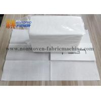 Quality Decorative Linen Like Paper Dinner Napkins Disposable Fluff Pulp Material for sale