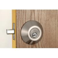 Wholesale Stainless Steel Metal Sliding Door Locks Single Cylinder Deadbolt 3 Same Brass Keys from china suppliers