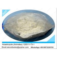 Wholesale Powder Anti Estrogen Steroids / 120511-73-1 Anastrozole Arimidex For Muscle Gain from china suppliers