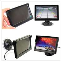 Wholesale 5 Inch LCD dashboard monitor with car rear view camera back up assistance aid camera from china suppliers