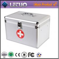 Wholesale aluminium tool case with drawers portable aluminum tool box medicine carry case from china suppliers