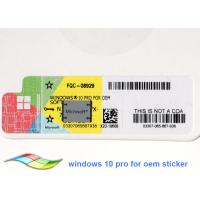 Wholesale Windows 10 Product Key Software 64Bit Operating Systems Online Activate Brand New Genuine License from china suppliers