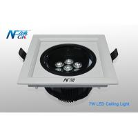 Wholesale 7W Cool White LED Indoor Ceiling Lights , Aluminum LED Ceiling Recessed Lighting from china suppliers