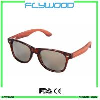 Buy cheap Cheap 2016 Wooden Sunglasses high quality bamboo temple sunglasses colorful sunglasses from wholesalers