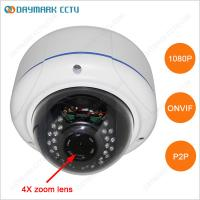 Wholesale HD 1080P Waterproof Zoom IR Dome IP Camera P2P Plug and Play from china suppliers